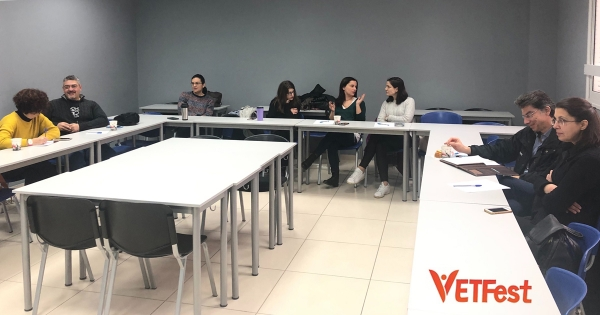 """VETFest"" 12 Events for Transnational and National VET networks – Presentation of the project on training activity of Mu.SA. project (Athens, Greece 8 February 2020)"