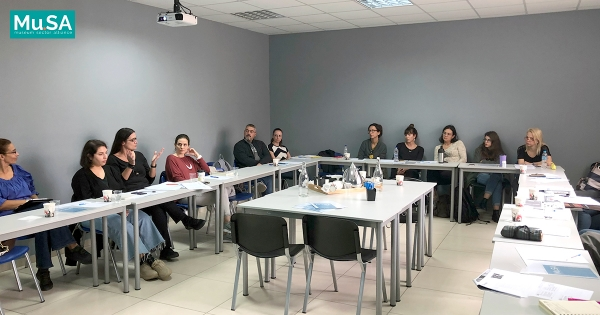 1st Face-to-Face Training Session of Erasmus+ Project Mu.SA