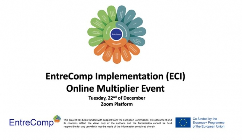 EEO Group organised the 1st Multiplier Event for the ECI Project