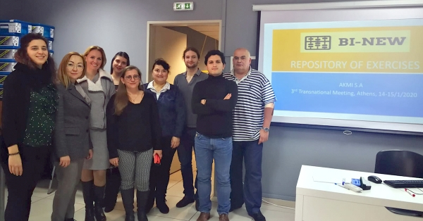 3rd Transnational Meeting of BI NEW project in Greece