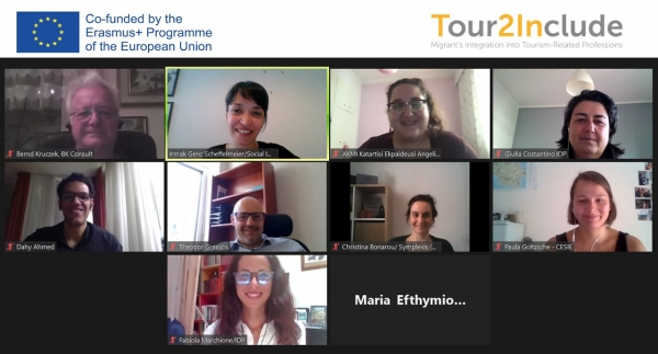 The Project Meeting of Tour2Include was held online