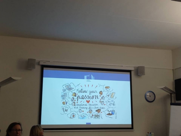 The Department of EU Projects of AKMI S.A participated in the Monitoring Meeting of  VET-Business Partnerships on Work-based Learning and Apprenticeships